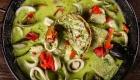 paella en salsa verde
